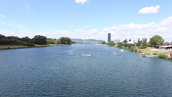 In der Neuen Donau gilt ab sofort ein Badeverbot.