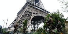 Eiffelturm wegen Bombendrohung evakuiert