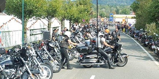 European Bike Week: Aus aller Welt pilgerten bisher Biker zum Megaevent an den Faaker See.