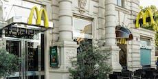 Wenn du McDonald's isst, musst du deinen Namen verraten