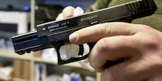 Pistolenmann löst großen Polizeieinsatz aus
