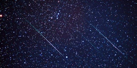 Der Meteoritenschauer der Leoniden ist jedes Jahr um den 17. November zu beobachten.