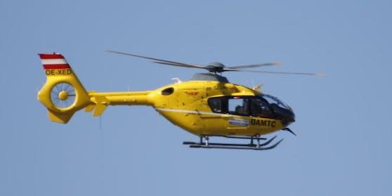 Der Verletzte musste in die Innsbrucker Uniklinik geflogen werden.