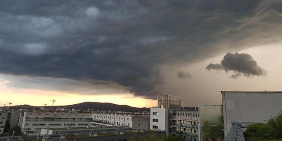 Am Dienstag ist wieder mit Gewittern zu rechnen.