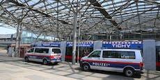 Vier Drogendealer am Praterstern festgenommen