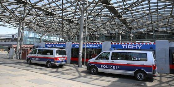 Der Vorfall ereignete sich am Bahnhof Praterstern