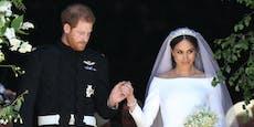 """""""Keiner weiß das"""": Harry & Meghan heirateten nochmal"""