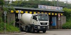 Zugverkehr in Donaustadt nach Unfall unterbrochen