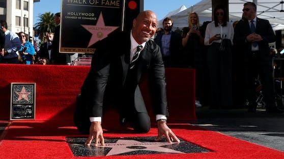 """Dwayne """"The Rock""""Johnson ist zum zweiten Mal in Folge der bestbezahlteste Schauspieler in Hollywood."""