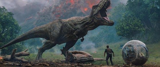 """Nach """"Jurassic World: Fallen Kingdom"""" müssen sich Fans der Dino-Filmreihe noch bis Sommer 2022 auf die nächste Fortsetzung gedulden."""