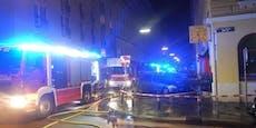 Keine stille Nacht: Wiener Wohnung in Flammen