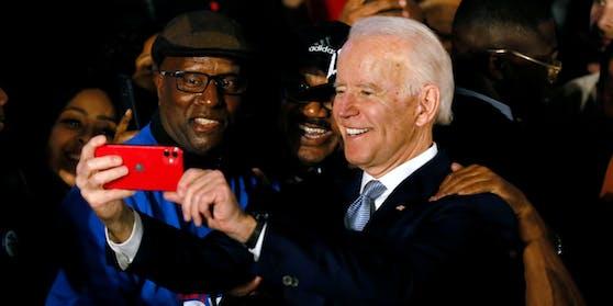 Der demokratische Präsidentschaftskandidat Joe Biden.