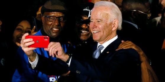 Joe Biden erfreut sich bei afroamerikanischen Wählern großer Beliebtheit.
