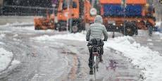 Eisregen startet total verhageltes Wochenende