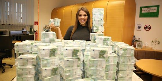 Wer holt sich acht Millionen Euro im Lotto?