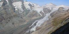 Alpen haben 4,8 Gigatonnen ihrer Eismasse verloren