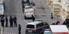 Banküberfall in Wien: Bewaffneter Täter auf der Flucht