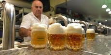 Corona-Aktion scharf: Kein Bier mehr ohne Sitzplatz