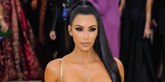 Kim Kardashian bei der Met Gala