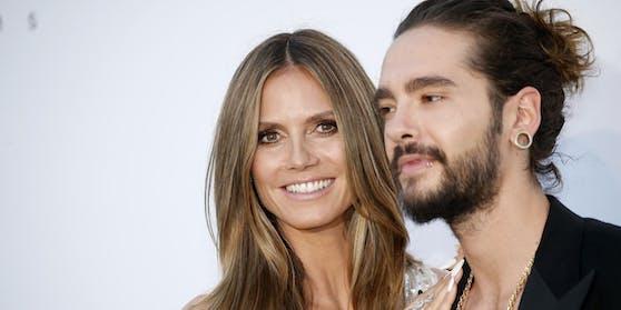 Heidi Klum mit ihrem Tom Kaulitz in Cannes auf dem Roten Teppich