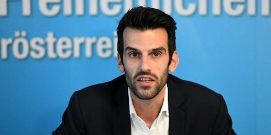 Udo Landbauer, Landeschef der Freiheitlichen in NÖ