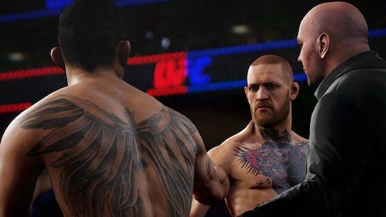 MMA gibt es übrigens auch als Game.
