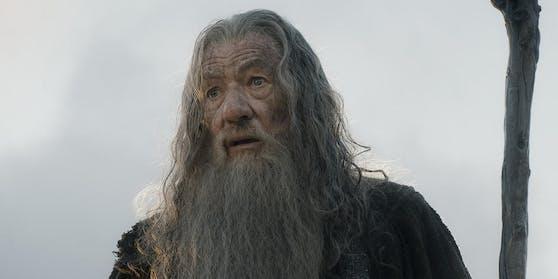 """Ian McKellen als Gandalf in """"Der Hobbit: Die Schlacht der fünf Heere"""""""
