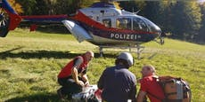 Tiroler will abgestürztes Rind retten, stürzt selbst ab