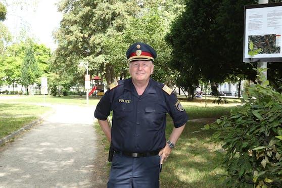Linz Stadtpolizei-Chef Karl Pogutter