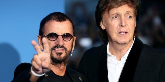"Die letzten ""Beatles"": Ringo Starr (links) und Paul McCartney"