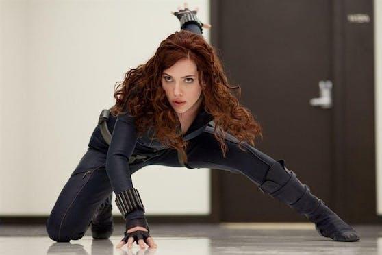 """Scarlett Johansson als Black Widow in """"Iron Man 2""""."""