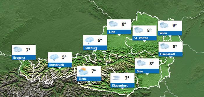 Wetter Wien Nächste Woche