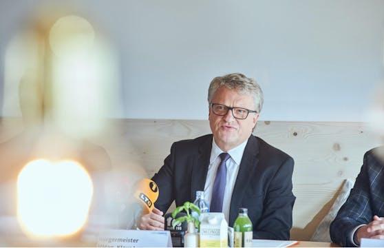 Bürgermeister Klaus Luger ist schon zum zweiten Mal in Quarantäne.