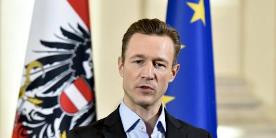 Gernot Blümel (ÖVP) ist Bundesminister im Bundeskanzleramt für EU, Kunst, Kultur und Medien der Republik Österreich.