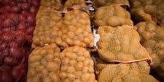 Dreister Erdäpfel-Schummel im Supermarkt entdeckt