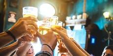 Wer bis zum Umfallen trinkt, riskiert Demenz