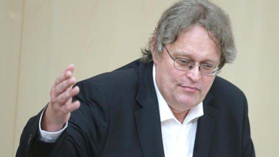 Peter Kolba war kurzzeitig auchKlubobmann der Liste Pilz / Jetzt.