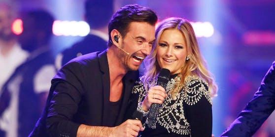 10 Jahre ein Paar: Florian Silbereisen mit Helene Fischer 2018 in einer Schlagershow auf ARD.