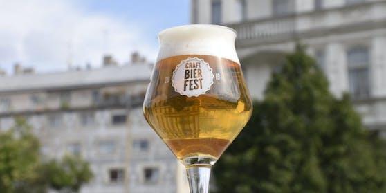 Das Craft Bier Fest machte Wien ein Wochenende lang zur Biermetropole.