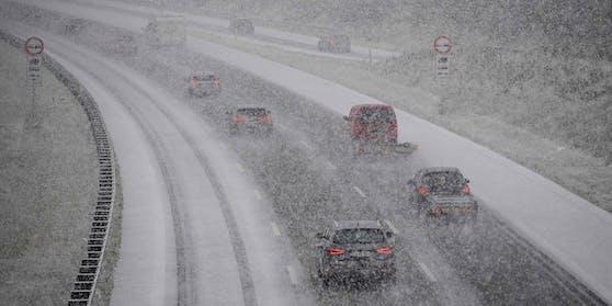 Schnee-Comeback in Österreich