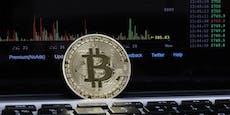 Bitcoin boomt - höchster Stand seit zweieinhalb Jahren