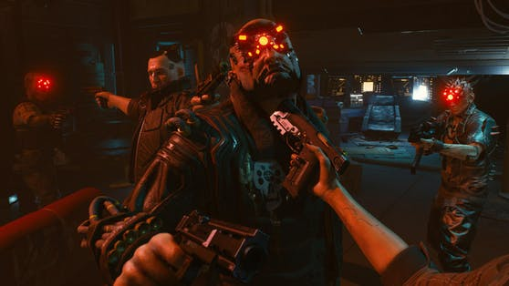 """Sex, Gewalt und Drogen stehen in """"Cyberpunk 2077"""" an der Tagesordnung."""