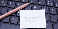Mit diesen dummen Passwörtern wirst du schnell gehackt