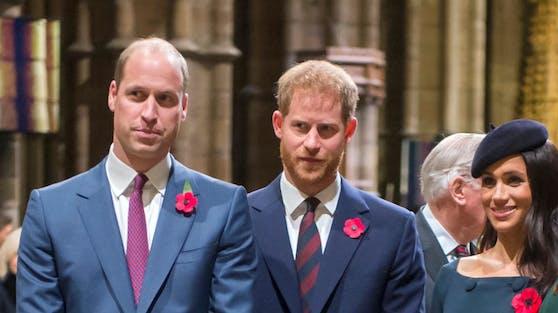 William und Harry scheinen sich nicht mehr sonderlich gut zu verstehen.
