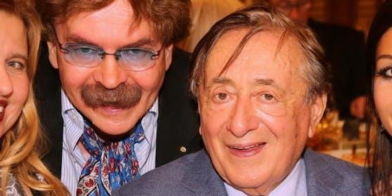 Gerhard Bocek und Richard Lugner