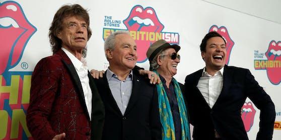 """Ober-""""Rolling Stone"""" Mick Jagger (links) soll Jürgen Drews in den 1970ern ein eindeutiges Angebot gemacht haben"""