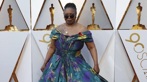 Publikumsliebling Whoopi Goldberg bei der Oscar-Verleihung.
