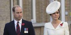 Komiker flirtet mit Kate: So reagiert William