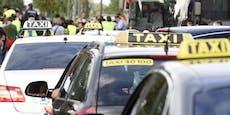 Neue Taxler-Demo sorgt für Stau-Alarm in Wien