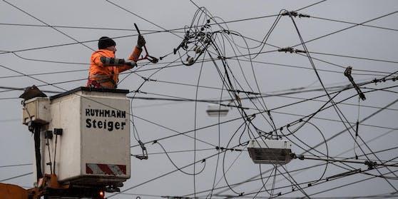 Am Freitagnachmittag hatte das europäische Stromnetz mit einer Frequenzstörung zu kämpfen.